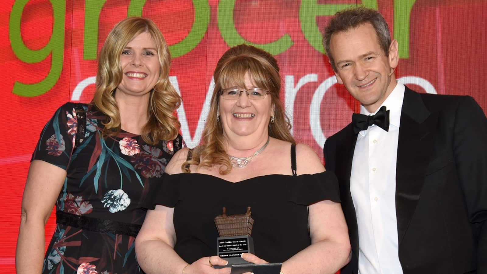 Tracy McNeil from Clydebank Co-op Keystore More Kilbowie – Best Soft Drinks Outlet Of the Year